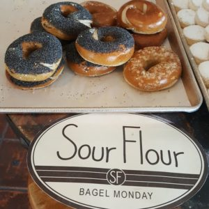 Sour Flour bagel monday